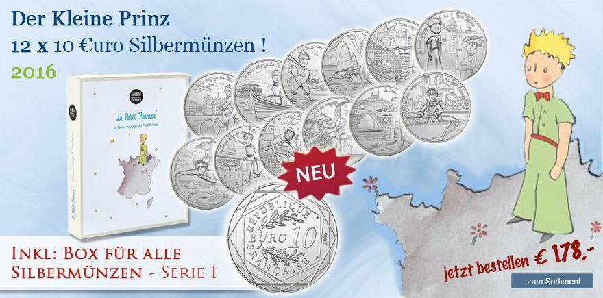 10 Euro Silbermuenzen