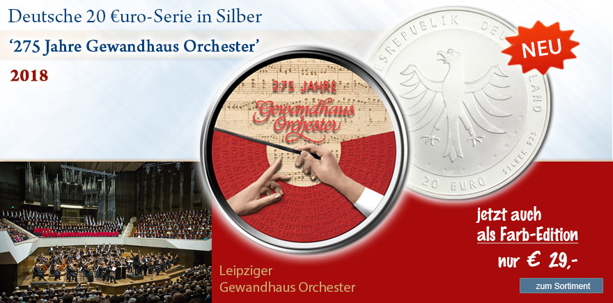 Euro Silbermünzen von 2018 aus Deutschland sammeln