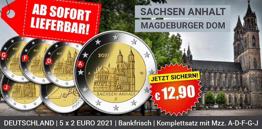 2 Euro Gedenkmünzen 2021 kaufen