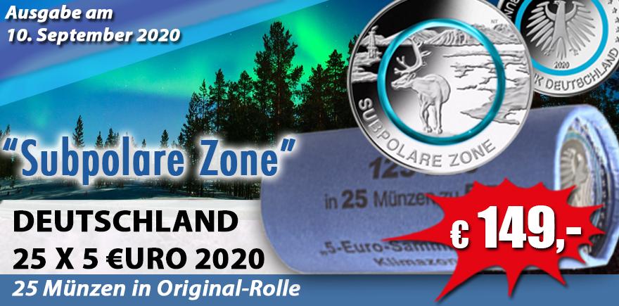 Deutschland Euro Polymerring 5, 10, an land