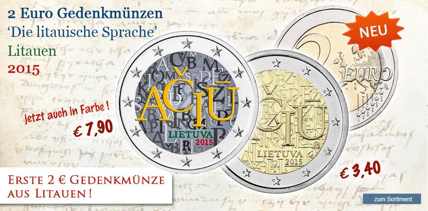 2 Euro Münze online bestelleen bei Historia