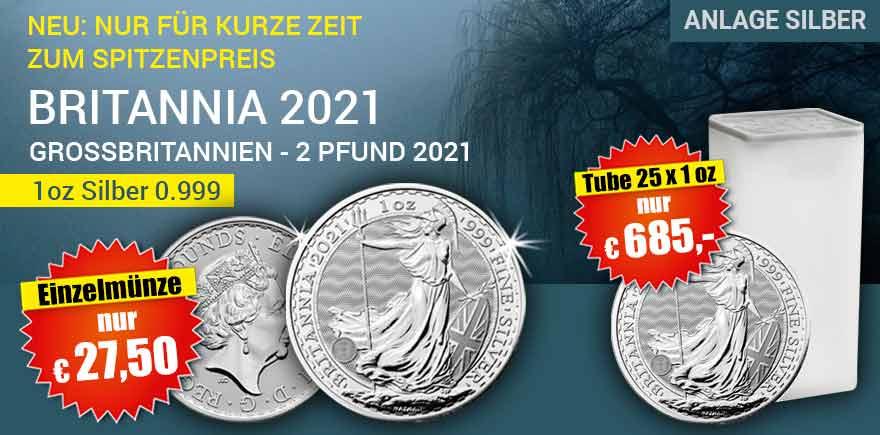Britannia Silver Ounze | Historia-Hamburg