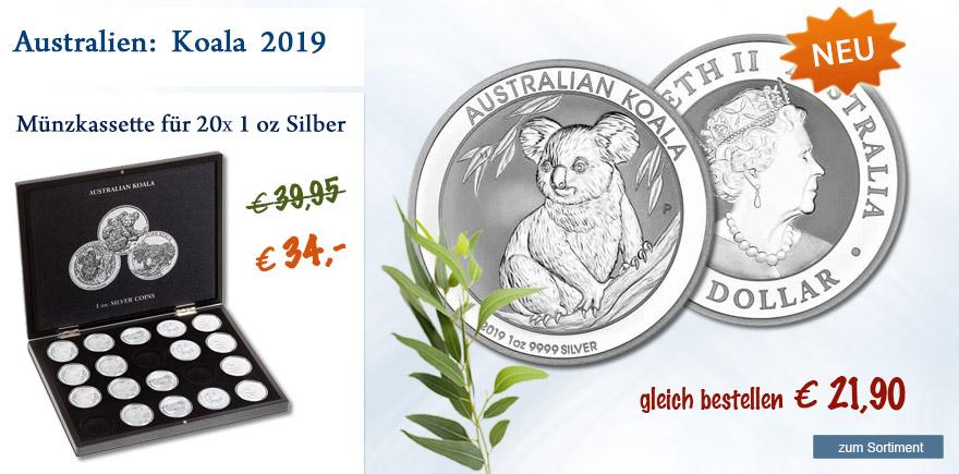 Sondermünze von Ihrem Münzhandelshaus online bestellen