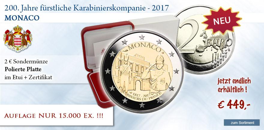 2 Euro Vatiakan 2017 Sondermünze Polierte Platte