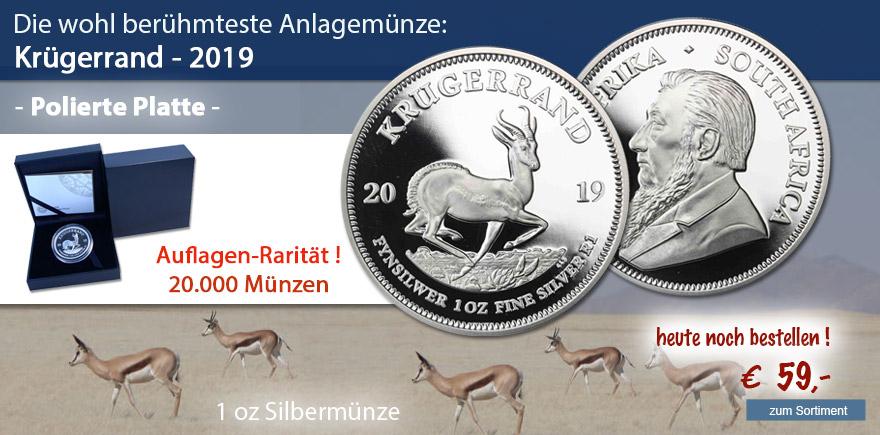 Sondermünze  2019 Krügerrand PP