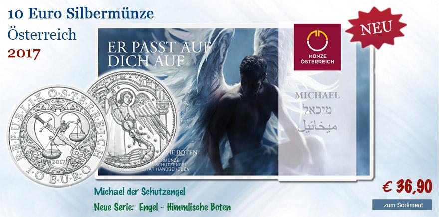 Münze Österreich 2017 Engel