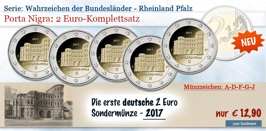 2 Euro Sondermünze Porta Nigra