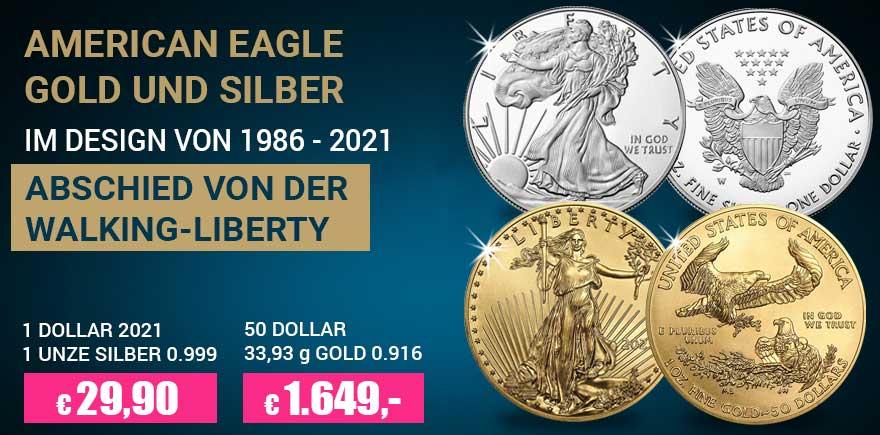 Gold - Silver Eagle Münzen | Historia-hamburg.de