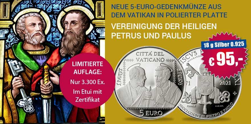 Vatikan Silbermünzen kaufen | Münzen von Historia-hamburg.de