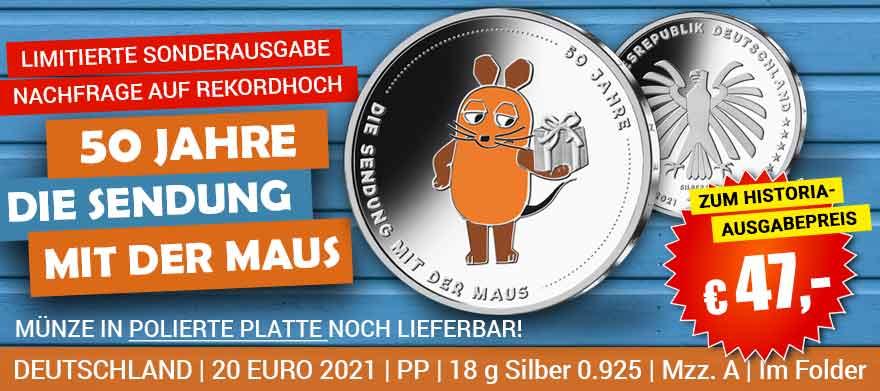 20 Euro Silbermünzen