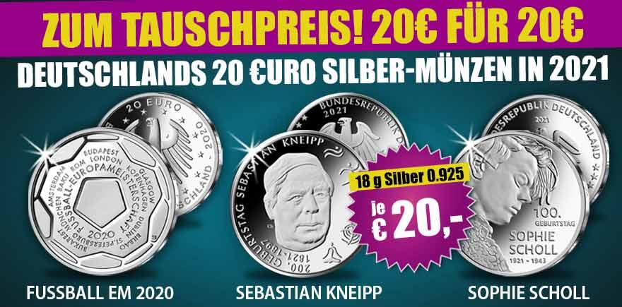 Deutschland Euromünzen