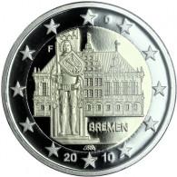 Deutschland 2 Euro 2010 Bremen Polierte Platte - Mzz. nach HISTORIA-Wahl