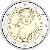 2 Euro Gedenkmünze San Marino 2018 420. Geburtstag von Gian Lorenzo Bernin bestellen sammeln