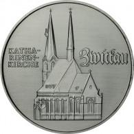 J.1626 - DDR 5 Mark 1989 - Katharinenkirche Zwickau