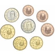 Spanien 1 Cent bis 2 Euro 2003 lose Bankfrisch