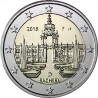 2 Euro Münze Dresdner Zwinger 2016