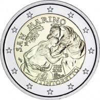 2 Euro Sondermünze Tintoretto aus San Marino von 2018