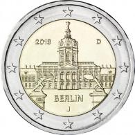 Deutschland 2 Euro 2018 Schloss Charlottenburg - Berlin Mzz. J