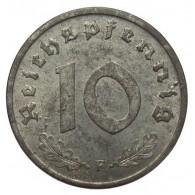 Alliierte Besatzung 10 Reichspfennig 1945-48   ohne Hakenkreuz