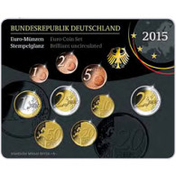 Deutschland 5,88 Euro-Kurssatz 2015 Stgl. Mzz G
