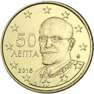 Griechenland 50 Cent 2015 bfr. Eleftherios Venizelos