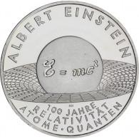 10 Euro Silber 2005 Albert Einstein -  Relativität