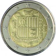 2 Euro Muenzen Andorra