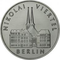 J.1613 - DDR 5 Mark 1987 - Nikolaiviertel in Berlin