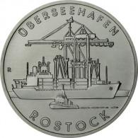 J.1619 - DDR 5 Mark 1988 - Überseehafen Rostock