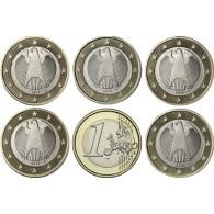 Deutschland 1 Euro- 2017 Kursmünze Gedenkmünzen Zubehör Münzen kaufen