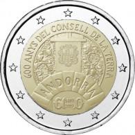 2 Euro-Gedenkmünzen 600. Jahrestag des Consell de la Terra aus Andorra bestellen