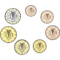 Irland 1 Cent bis 1 Euro 2005 7 Münzen - lose bfr.