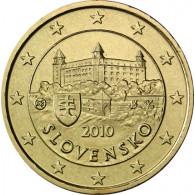 Slowakei 50 Cent 2010 bfr.  Burg von Bratislava