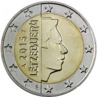 Luxemburg 2 Euro 2015 bfr Großherzog Henri I.