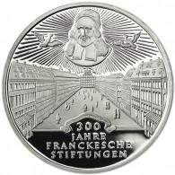 Deutschland 10 DM Silber 1998 PP 300 J. Frankesche Stiftungen Mzz. komplett A bis J