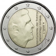 Niederlande 2 Euro 2015 König Willem Alexander