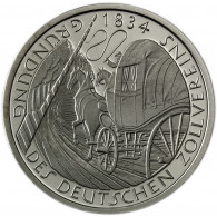 Deutschland 5 DM 1984 Stgl. 150. Gründungstag Deutscher Zollverein