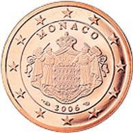 Monaco 1 Cent 2006  PP