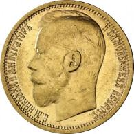 Russland 15 Rubel Goldmünzen Zar Nikolaus II 1897 sehr selten