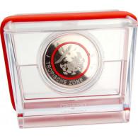 5 Euro Gedenkmünze Tropische Zone 2017 Roter Ring aus Deutschland  Mzz. G Spiegelglanz