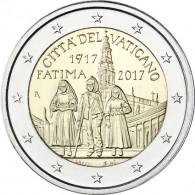 Vatikan 2 Euro 2017 stg. 100. Jahre der Erscheinung von Fatima