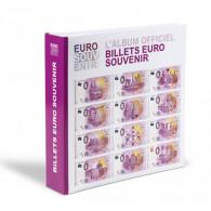 """358046 -  Album für  """" Euro - Souvenier """" Banknoten Billets 0 Euro Scheine"""