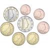Euro-Kursmünzen Luxemburg bankfrisch 2009
