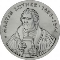 DDR 20 Mark Sammlermuenze Martin Luther