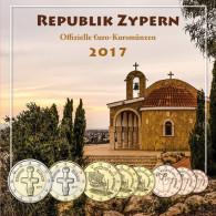 Zypern 3,88 Euro 2017 bfr. KMS - Sondersatz im Folder