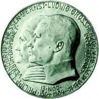 J.75  Hessen 5 Mark 1904  Philipp I.  Sonderpreis