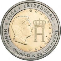 Luxemburg 2 Euro 2004 bfr. Monogramm des Großherzoges