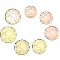 Estland 1,88 Euro 2016 bfr. KMS 1 Cent bis 1 Euro  lose