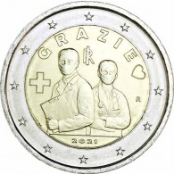 Italien-2-Euro-Gedenkmünze-2021-Danke_Medizin