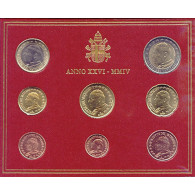 Kursmünzen Vatikan 3,88 Euro im Folder mit Papst Johannes Paul sammeln